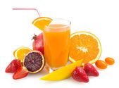 热带果汁 — 图库照片