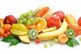 Fruit background — Stock Photo