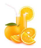 Pomerančová šťáva — Stock fotografie