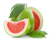 Red pomelo — Stock Photo