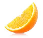 Oranžové plody izolovaných na bílém — Stock fotografie