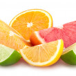 Colorful citrus slices — Stock Photo #49758857