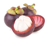 Ripe mangosteen — Stock Photo