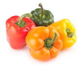 Colorful bell peppers — Stock Photo