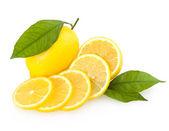 Sliced lemon — Stock Photo