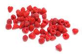 Raspberry scattering — Stock Photo