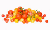 Tomato scattering — Stock Photo