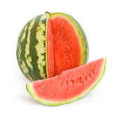 Water melon with  slice — Stock Photo