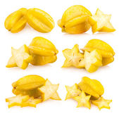 Collection of star fruits — Stock Photo