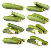 Collection of zucchini — Stock Photo