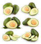Collection of avocado — Stock Photo