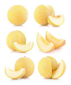 Collection of 6 melons — Stock Photo