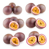 Collection of 6 passion fruits — Stock Photo