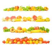 Sfondo di frutta e verdura — Foto Stock