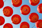čínská červená lucerna — Stock fotografie