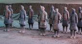 Terra Cotta Warriors — 图库照片