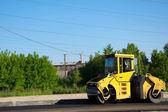 Road construction — Stock Photo
