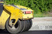 Rolling machinery wheel  — Stock Photo