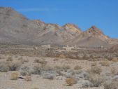 Rhyolite in Death Valley Nevada USA — Stock Photo