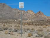 Rhyolite in Death Valley Nevada USA — Stock Photo