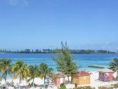 Plaża w nassau bahamas usa — Zdjęcie stockowe