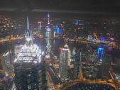 Night view of Shangai — Stock Photo