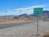 Beatty town in Death Valley — Foto Stock