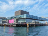 Royal Danish Playhouse in Copenhagen — Stock Photo