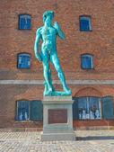 David Replica in Copenhagen — Stock Photo