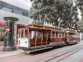Cable Cars in San francisco — Stockfoto