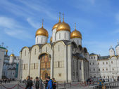 Dormition Cathedral Moscow — Stock Photo