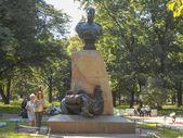 Nikolay Przkhevalsky statue — ストック写真