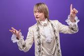 Consummate mastery of magician — Stockfoto