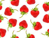 Strawberries pattern background — Photo