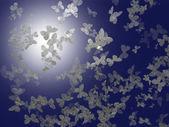 Ice butterflies — Stock Photo