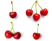 Set of cherries — Stock Photo