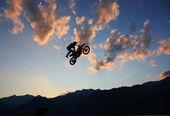 Freestyle motocross — Stock Photo