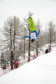 Mogul jump — Photo