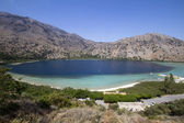 Lake Kournas in Crete — 图库照片