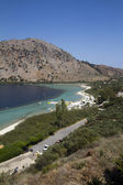 Lake Kournas in Crete — Stockfoto