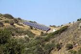 Solar pannels — Stock Photo