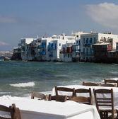 Sea restaurant — Stock Photo