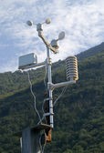 Meteorological weatherstation — Stock Photo