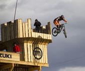 Mtb jump — Stock Photo