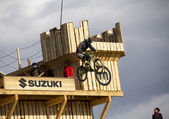 Biker — Stockfoto