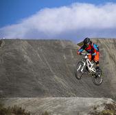 велосипед перейти — Стоковое фото