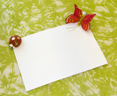 Greeting card — Stock Photo