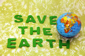 Save the earth — Stock Photo