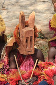 Dogon mask — Stock Photo