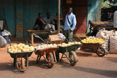 Market in mali — Foto de Stock